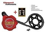 Kettensatz für Yamaha YZF-R 125 RE061 2008-2013 YZFR125 + Kettennietwerkzeug