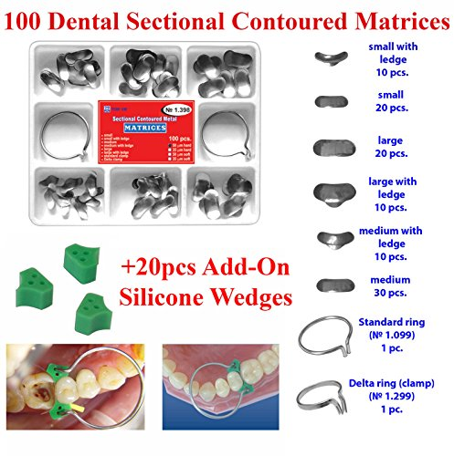 100-pcs-sectional-contoured-matrices-matrix-ring-delta-20-add-on-wedges