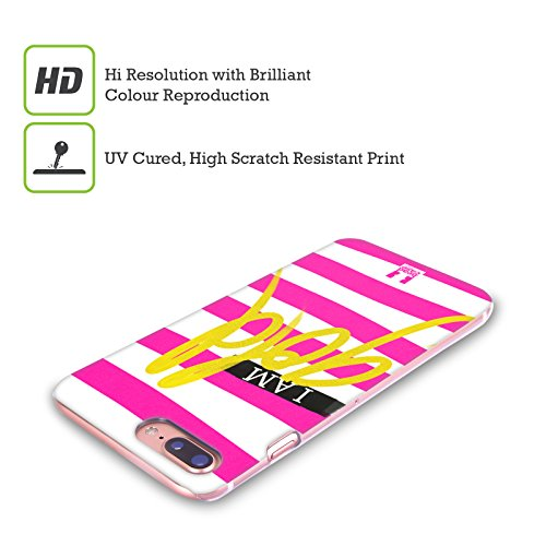 Head Case Designs Bellezza I Am Gold Gruppo Cover Retro Rigida per Apple iPhone X Oro