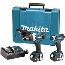 Makita DK18000 - Juego de herramientas eléctricas (18 voltios, pack de 2)