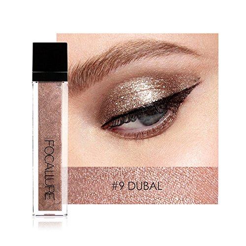 (TAOtTAO Lidschatten Metallic Shiny Smoky Eyeshadow Wasserdichter Glitter Eyeliner Eyeshadow (I))