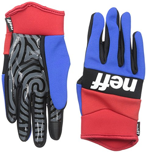 Neff Ripper Gants Red Blue