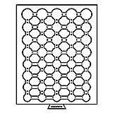 Leuchtturm 309885 MB Münzbox für Kapseln mit Innendurchmesser: diverse mm Ø | Für Euro-Kursmünzensätze von 1 Cent bis 2 Euro| rauchfarben