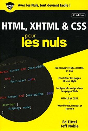 HTML, XHTML et CSS pour les Nuls poche, 4e édition par Ed TITTEL