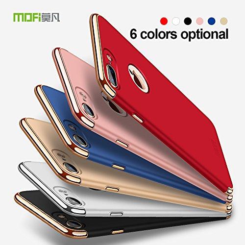 Meimeiwu Haute Qualité Très Mince Coque Etui Housse Case Cover pour iPhone 7 Plus - Or Rouge