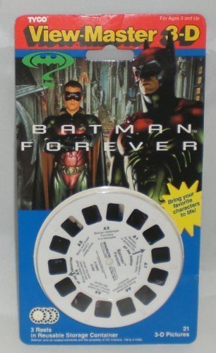 tyco-view-master-3-d-batman-forever-reel-set-3-reels-21-3-d-pics-1995-by-view-master