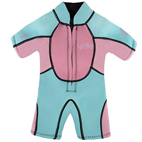"""Preisvergleich Produktbild Infant / Girls Shorty Neoprenanzug """"Seahorse"""" Pink Age 2"""