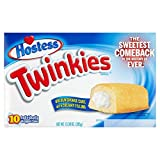 Hostess Twinkies Goldene Kuchen mit Cremefüllung 10 x 38,5 g