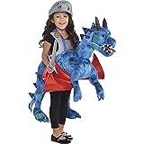 Travis designs- Disfraz infantil de dragón, talla única (RDR)