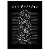 LaMAGLIERIA Hochqualitatives Poster - Joy Division Japan - Posterdruck glänzend laminiert im Großformat, 30cmx40cm