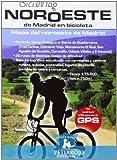 Noroeste De Madrid En Bicicleta. Mapa Del Noroeste De Madrid (Bicimap (petirrojo))