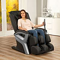 Massagesessel »Enjoy« Relaxsessel Entspannungssessel Massage Sessel (Schwarz)