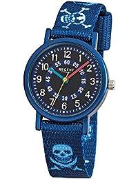 Kinderuhr Pirat blau 12400247