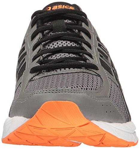 Asics Gel-Contend 4 Maschenweite Laufschuh Carbon/Black/Hot Orange
