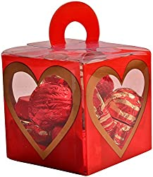 99StoreOnline Red Heart Box Chocolates, 100 grams