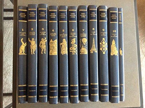 Grand Larousse junior, 10 volumes + index
