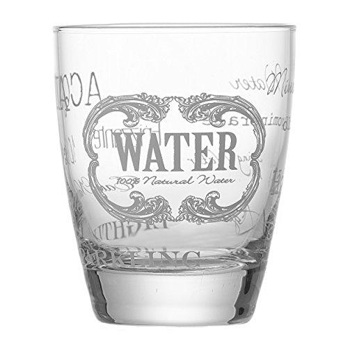 Ritzenhoff & Breker Flirt Wasserglas Brunello, Trinkglas, Glas, Getränkeglas, 300 ml, 157246