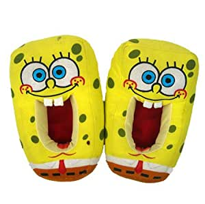 Spongebob - Plush Slipper - Pantofole In Peluche - Taglia Unica 32/34