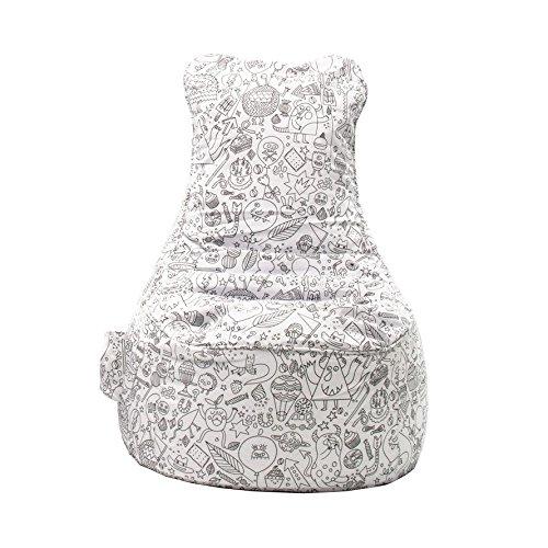 Sitting Bull - Sitzsack/Kindersitzsack/Sessel - Paint ME - 100x75x85 cm