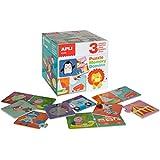 APLI Kids - Caja con puzzle, memory y dominó (13940)