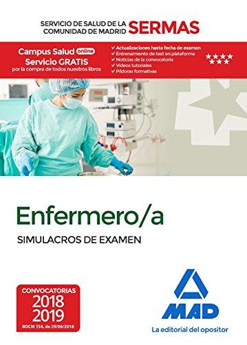 Enfermero/a del Servicio de Salud de la Comunidad de Madrid. Simulacros de Examen