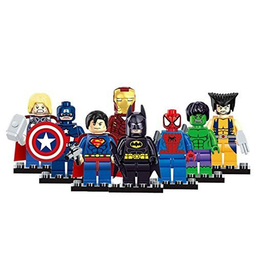 marvel-the-avengers-super-hero-mini-action-figures-building-toy-8-figures-without-box-by-dargo