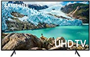 تلفزيون ذكي بدقة الترا اتش دي 4 كيه مقاس 55 بوصة من سامسونج- UA55RU7105KXZN- السلسلة 7، (2019)