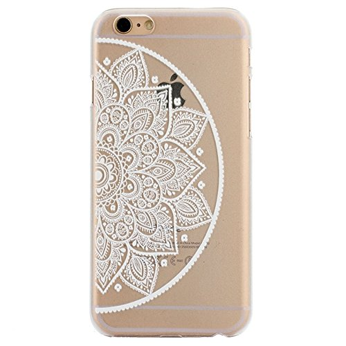 Phone case & Hülle Für IPhone 6 Plus / 6S Plus, Ultra-dünne transparente stereoskopische Diamant verkrustete Pflaume TPU Schutzhülle ( SKU : S-IP6G-0641B ) S-IP6G-0641K