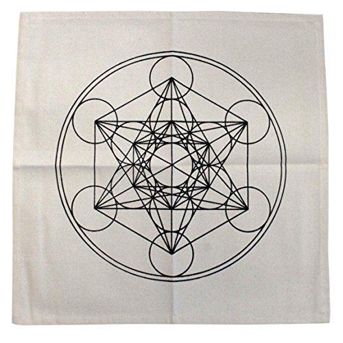 Alfombra de géometrie Sagrada–Cubo de metatrón