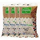 Vision Fresh Organic Fenugreek (Danamethi) - 800 Grams - Pack of 4 (200 Gram Each)