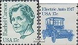 Prophila Collection USA 1489,1492y (kompl.Ausg.) 1981 Persönlichkeiten, Fahrzeuge (Briefmarken für Sammler) Straßenverkehr