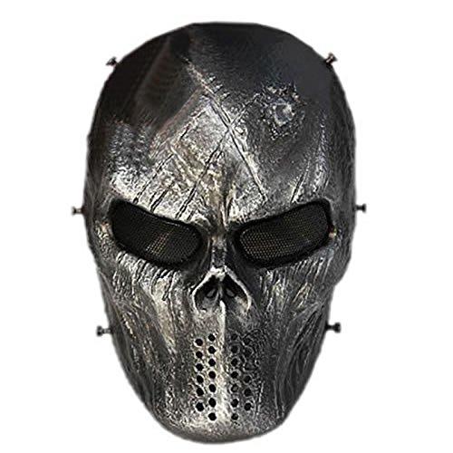 Zantec Outdoor Vollschutz Schutz Verkleidung Maske Schädel Maske für Jagd Cs War Spiel Hallowmas (Jagd Kostüm Frau)