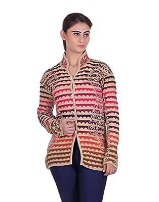 eWools Women's Ladies Girls Multicolor Winter wear Woolen Cardigan