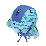 Sterntaler Baby-Jungen Mütze Schirmmütze M. Nackenschutz