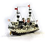 OSDFN 1890 Baltimore Cruiser Modell handgefertigte Vintage Art Collection 1:24 Home Bar Cafe Dekorationen