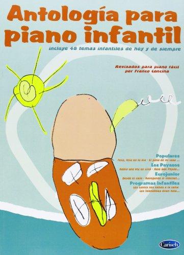 ANTOLOGIA DE PIANO INFANTIL por Concina Franco