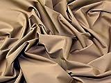 Italienisches Gewebe der Uni Stretch Baumwolle Shirting