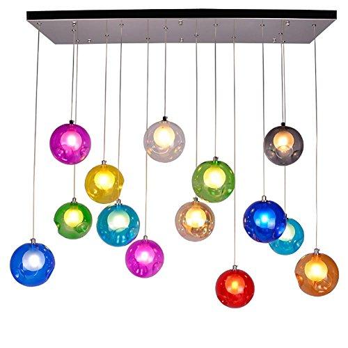 BJVB Moderna Sette colore della lampadina caldo