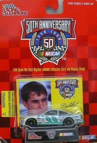 1998-racing-champions-nascar-50th-anniversary-no-00-buckshot-jones-silver-aqua-fresh-pontiac-grand-p