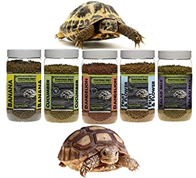 SIPW Komodo Complete Tortoise Dry Food Holistic Pellets Nutritional Healthy Diet Mix by Komo-do