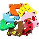 MANGO-8X Tope Clip Protector Puerta Dedos Seguridad Pa Bebé Baby