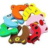 MANGO-8X Tope Clip Protector Puerta Dedos Seguridad Pa Bebé Baby - MANGO - amazon.es
