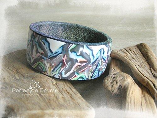 bracelet-manchette-borealis-en-pate-polymere-aux-motifs-abstraits-multicolores