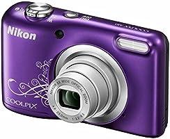 """Nikon COOLPIX A10 16.1MP 1/2.3"""" CCD 4608 x 3456pixels Violet - appareils photos numériques (Feux d'artifices, Auto, Secteur, Batterie/Pile, Appareil-photo compact, 1/2.3"""", 4,6 - 23 mm)"""