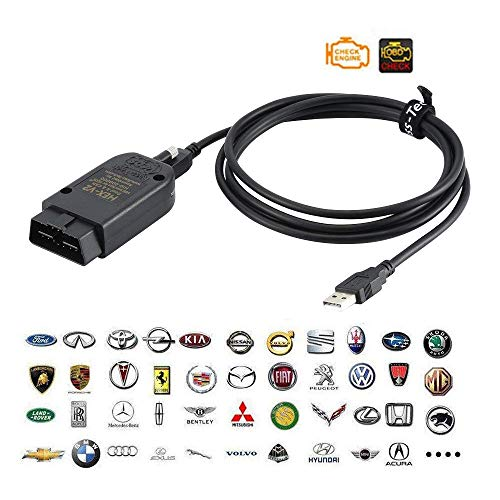 Maison Auto OBD2 Diagnosegerät Diagnostic System 19.62 HEX USB-CAN-Schnittstelle Auto-Diagnosewerkzeuge OBD-II Diagnosescannerkabel (19.60)