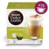 from NESCAF NESCAF Dolce Gusto Cappuccino, Pack of 3 (Total 48 Capsules, 24 Servings) Model Nescaf Dolce Gusto Cappuccino
