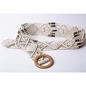 Rcnry rcnryhandmade Weave, Lady 's Fashion Belt