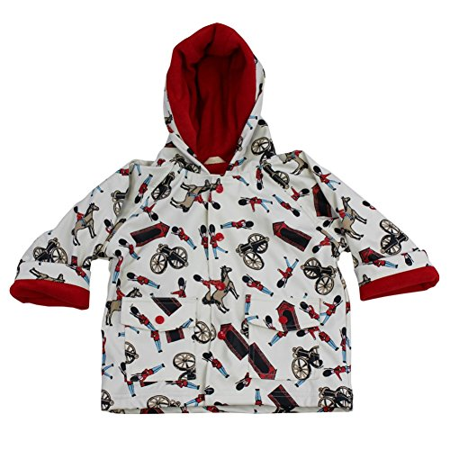 Powell Craft Boys Horse & Guard Raincoat-Rain Mac.