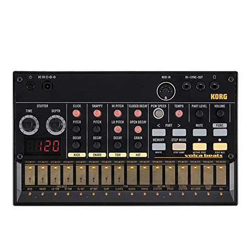 Volca Beats Analog Rhythm Machine Sequenziatore Electribe-Style Beaer Peerless Generated by Solid Analog Drum Sounds
