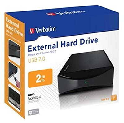 Verbatim 47512 1TB USB 2.0 3.5 Inch External Hard Drive - Black_Parent